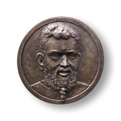 Reliefplatte Bronze